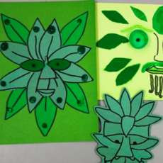 Craft-activity-green-man-collages-1518373517